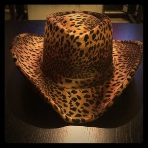 Stetson Leopard Print Cowgirl Hat
